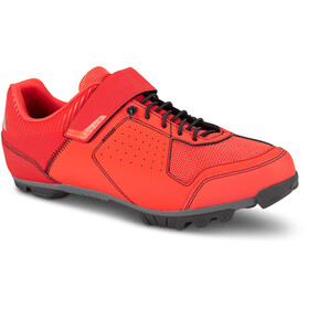 Cube MTB Peak Shoes red